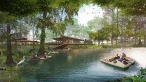 Bonnet Springs Park rendering by Sasaki Design