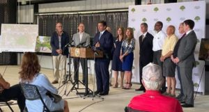 Governor DeSantis visiting BSP to announce grant for the City of Lakeland