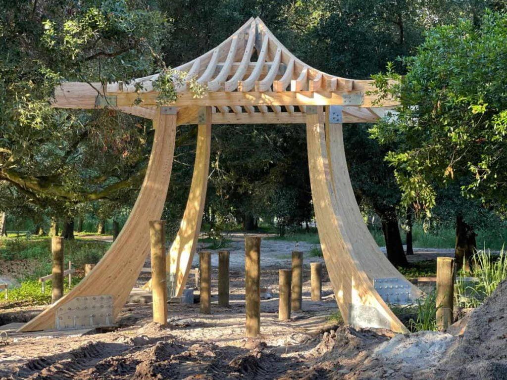 Nicholas and Ashley Barnett Peace Pagoda